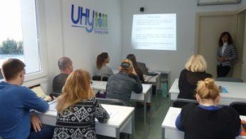 Prikaz predavanja u prostorima UHY Trening centra