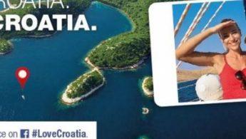 Prikaz obale iz zraka
