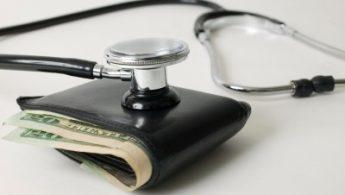 Stetoskop na novčaniku