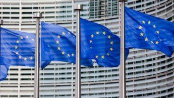 4 EU Flags